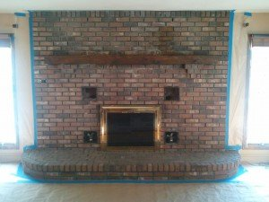 fireplace stamped BEFORE
